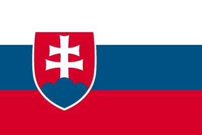国旗スロバキア