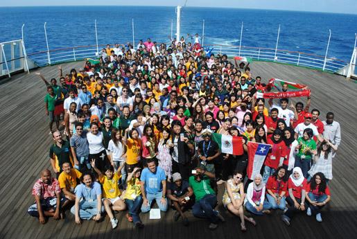 世界青年の船